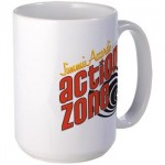 Action Zone Logo on Mug