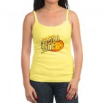 Action Zone Red Logo on Yellow Tank Top